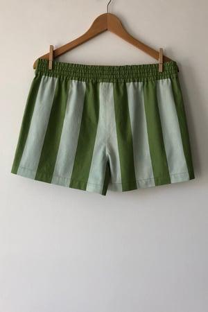 Image of Mixed Print Shorts - No. 3