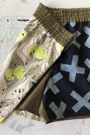 Image of Mixed Print Shorts - No. 11