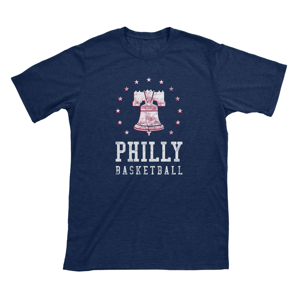 Image of Ring The Bell - Philly Basketball T-Shirt