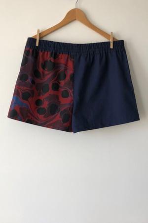 Image of Mixed Print Shorts - No. 9