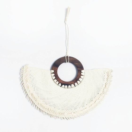 Image of Handmade Jipijapa Palm Fan