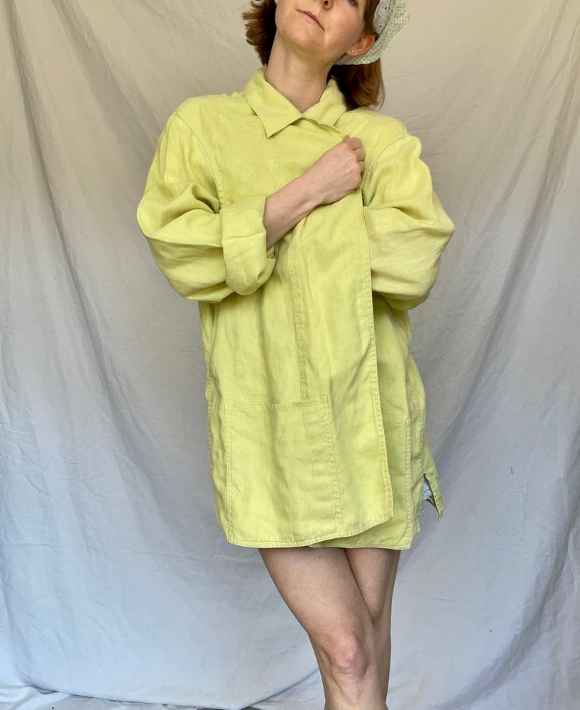 Image of Linen & Lime Jacket
