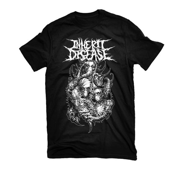 "Image of INHERIT DISEASE ""INHERIT DISEASE"" T-SHIRT"