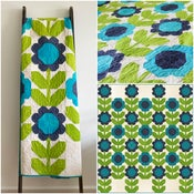 Image of Ombre Scandinavian Garden PDF Quilt Pattern