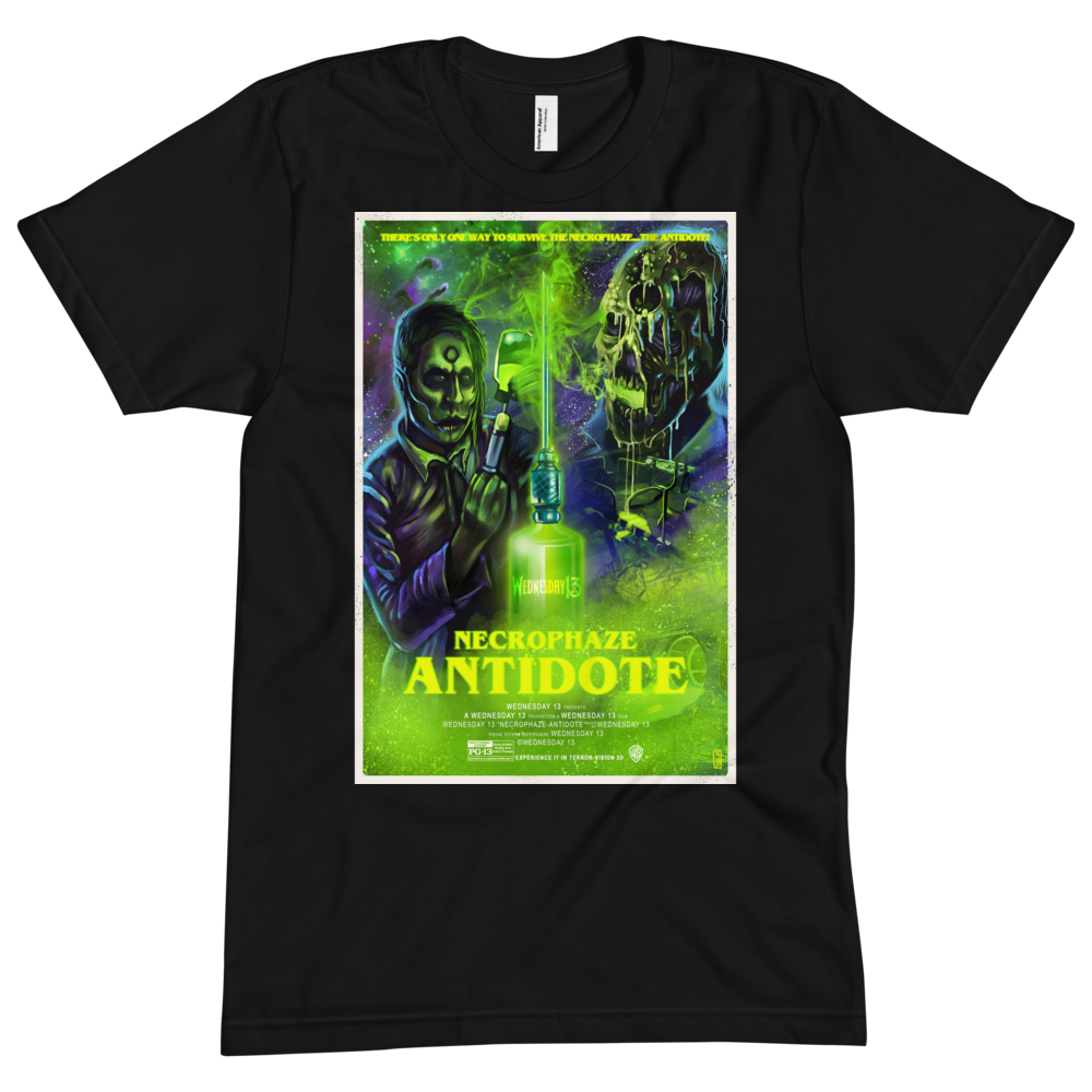 "Image of WEDNESDAY 13 ""ANTIDOTE"" TEE"