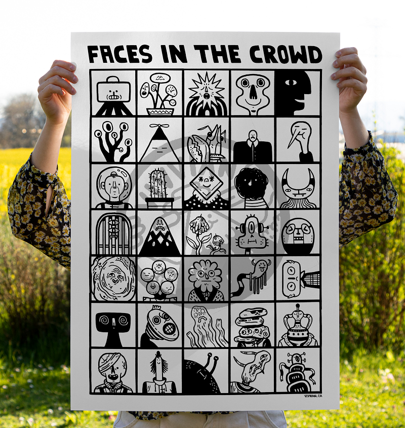Image of Faces in the crowd