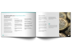 Image of Virtual Finance Office Brochure Design