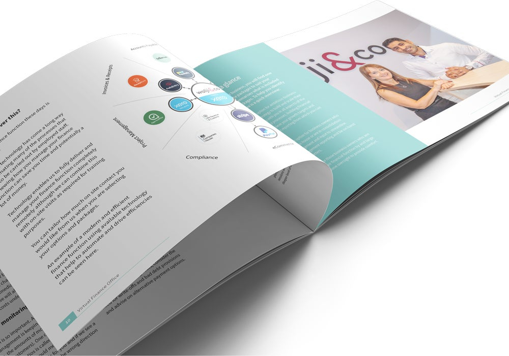 Image of Virtual Finance Office Brochure Print