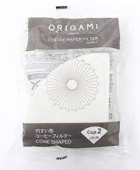 Image of 100 filtres Origami taille 2 cups