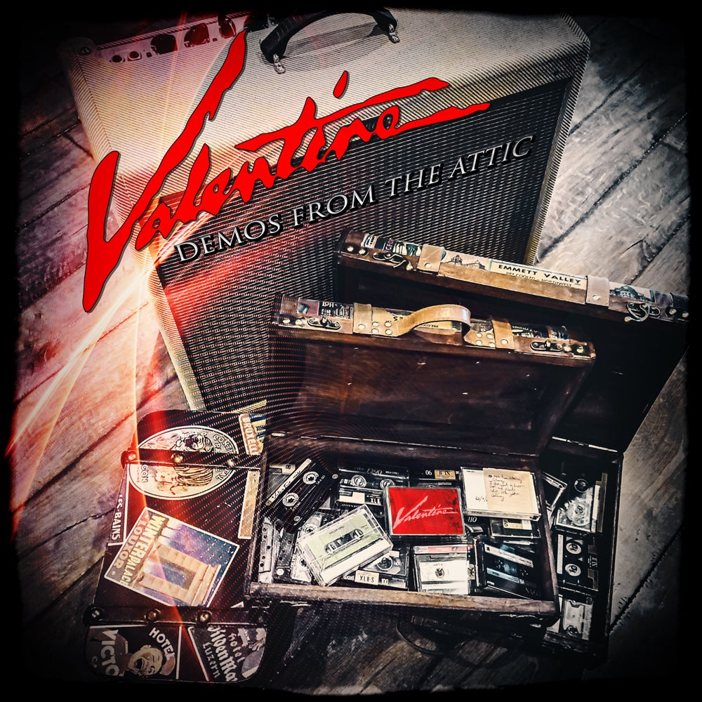 Image of VALENTINE - Demos from the Attic (CD / DVD - PRE-ORDERS)