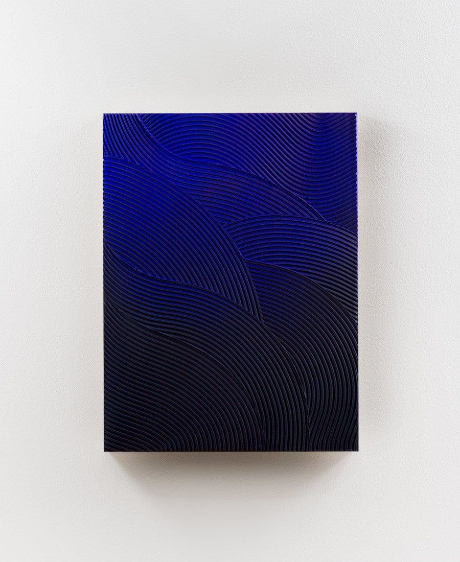 Image of Relief · Blue Waves No. 1 (sold)