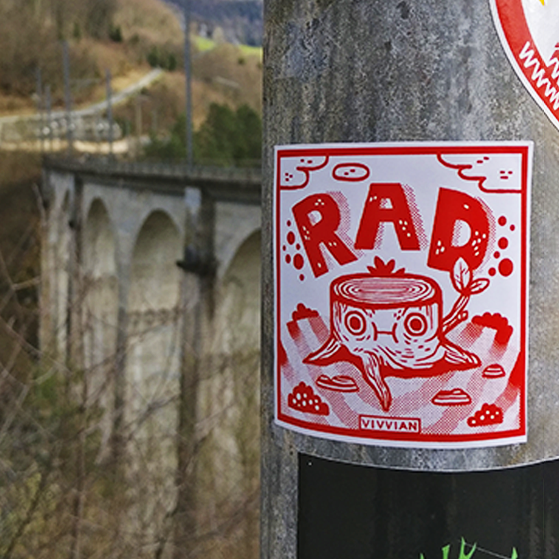 Image of RAD Stickers