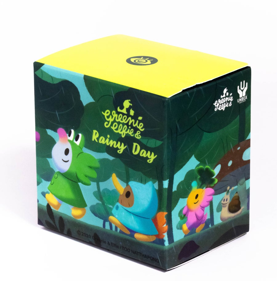 Image of GREENIE & ELFIE RAINY DAY BLIND BOX SERIES