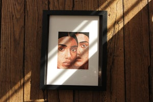 Image of Fine Art Print - Portraits of a constant dream, I