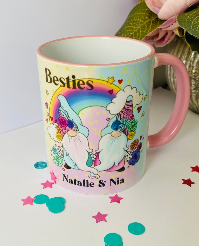 Image of Fiver Friday Besties Gnome Mug