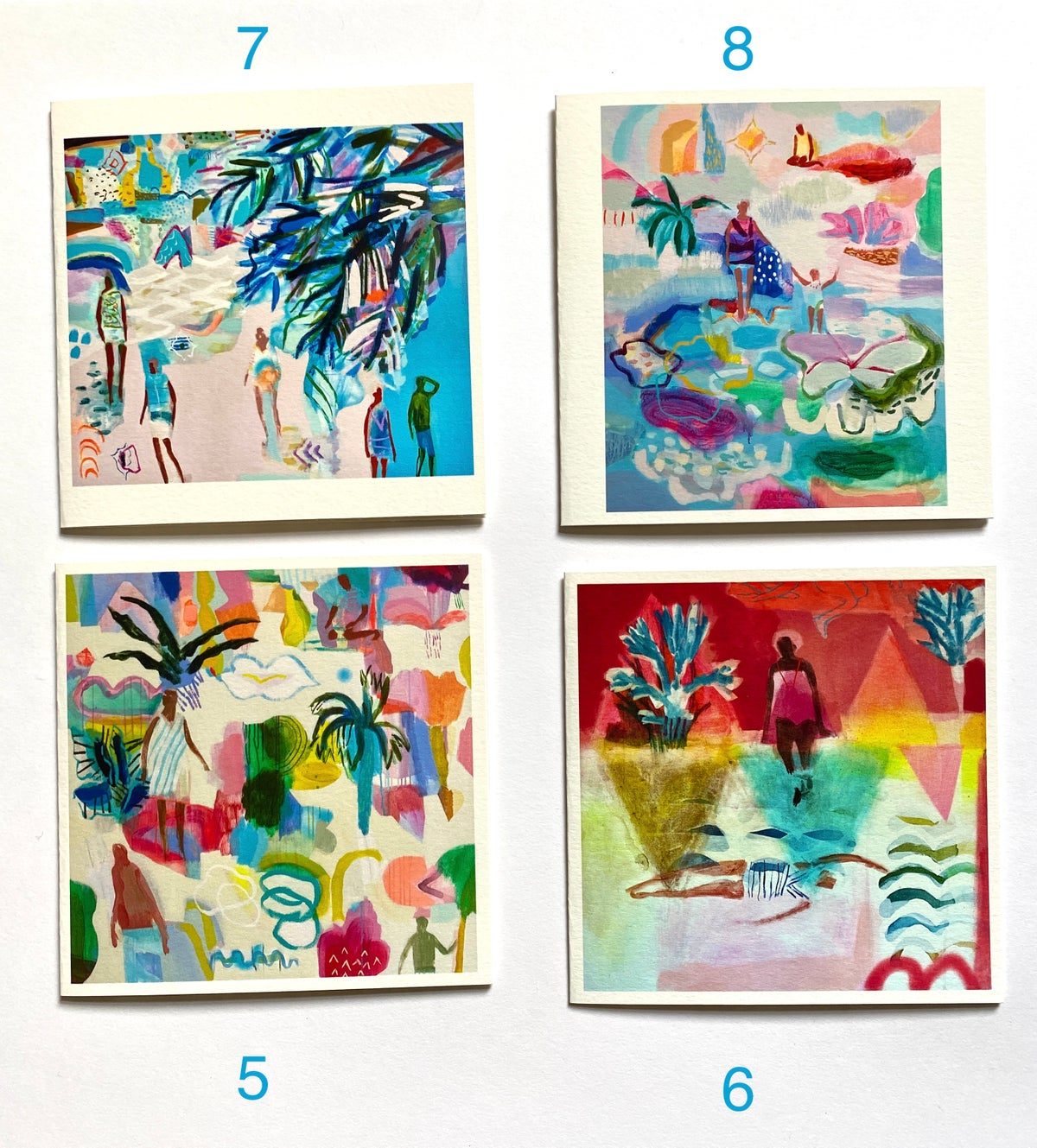 Day Tripper Greetings Cards