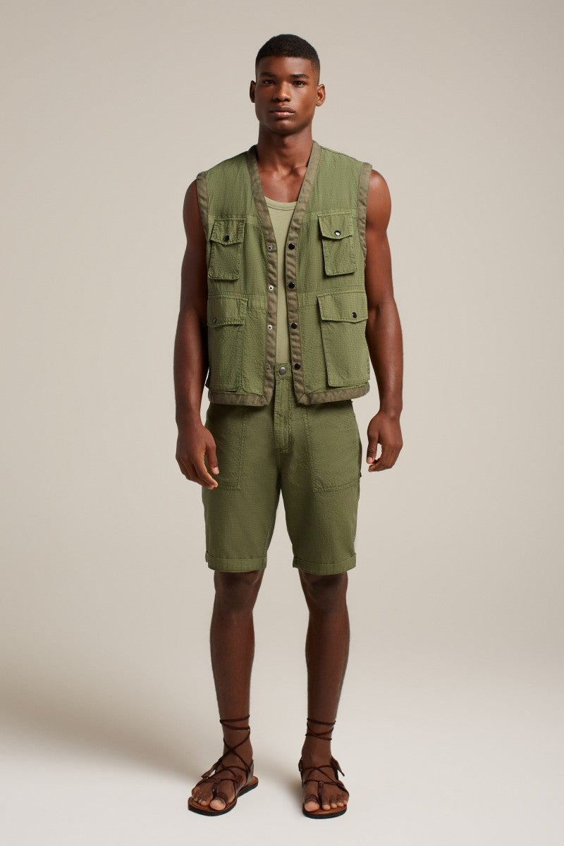 Image of HOMECORE LETO SHORT ARMY GREEN