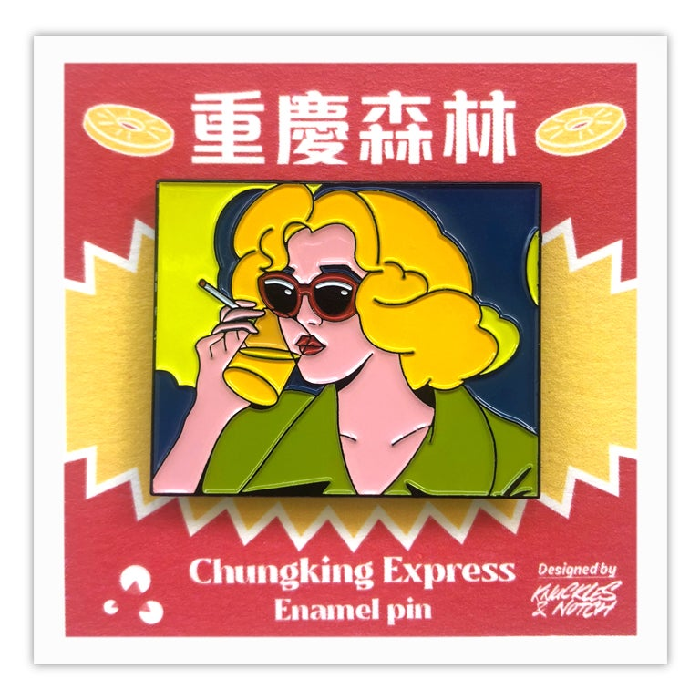 Image of Lady in Blonde Pin by K&N for Asian Film Archive – Retrospective: Wong Kar Wai