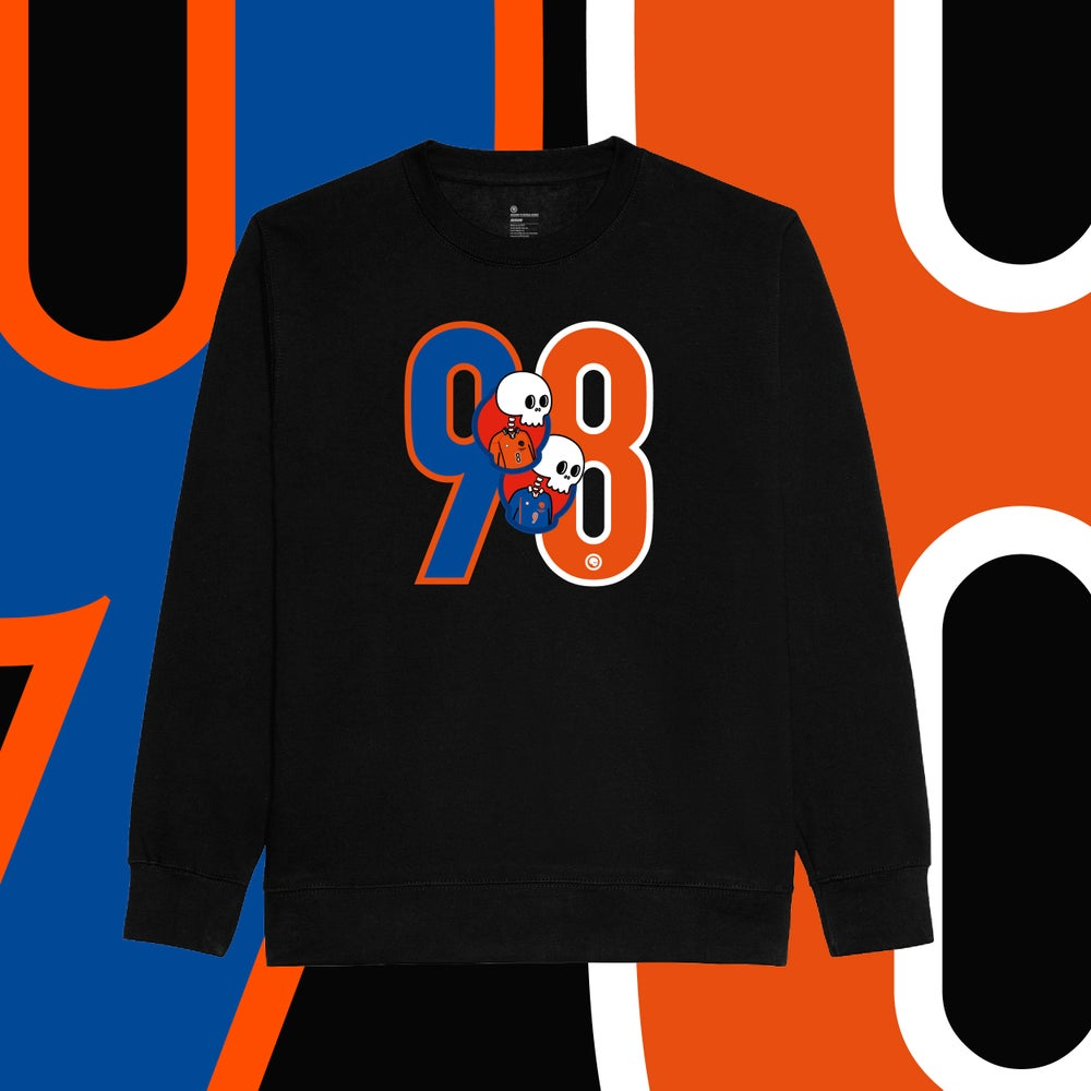 Image of Holland 98 Sweatshirt - Black