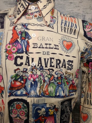 Image of Day of the dead , fandango men shirt, slim fit, tailored cut