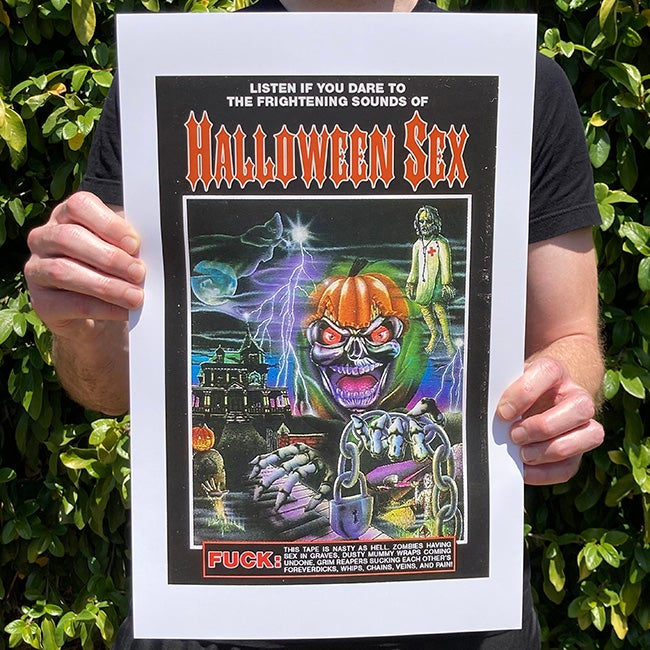 Image of Halloween Sex - 11 x 17 Print