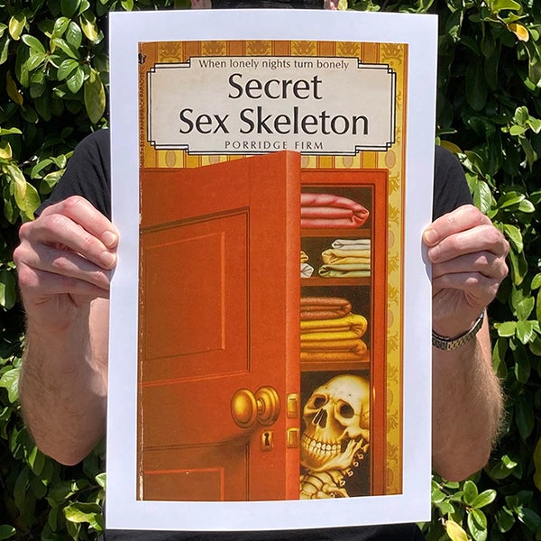 Image of Secret Sex Skeleton - 11 x 17 Print