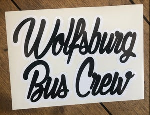 Image of WBC Black With White Outline Die-Cut Sticker