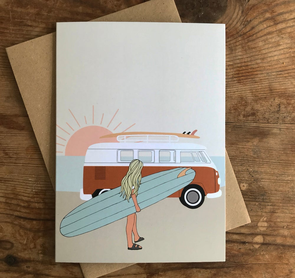 Image of Endless Summer Surf Card