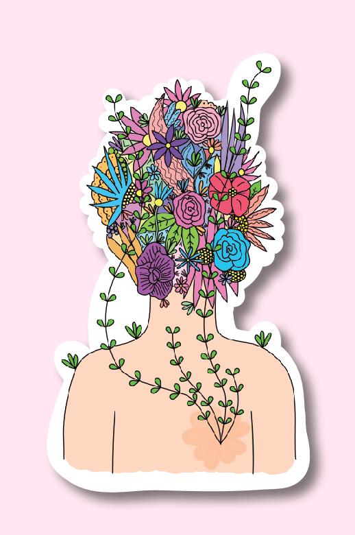 I've Been Growing Sticker