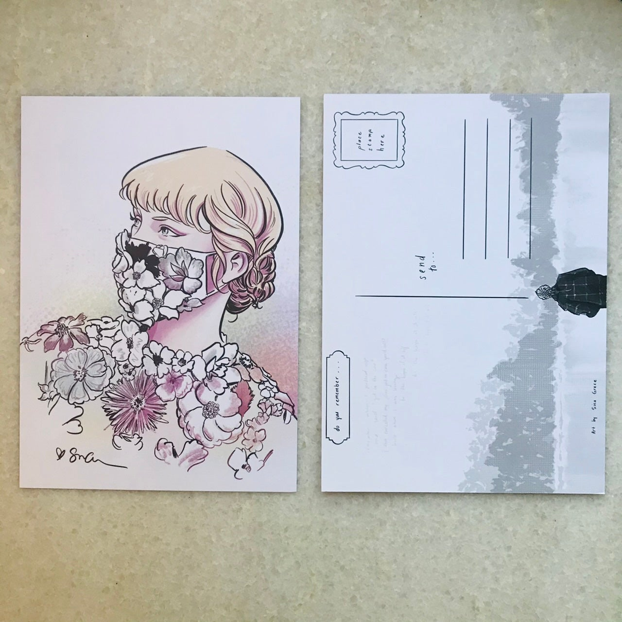 "Image of ""Do you remember..."" postcard set"