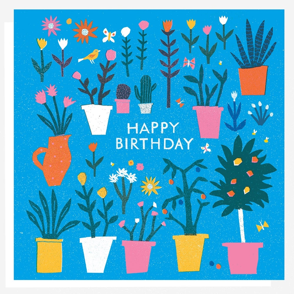 Image of Birthday Plants Card