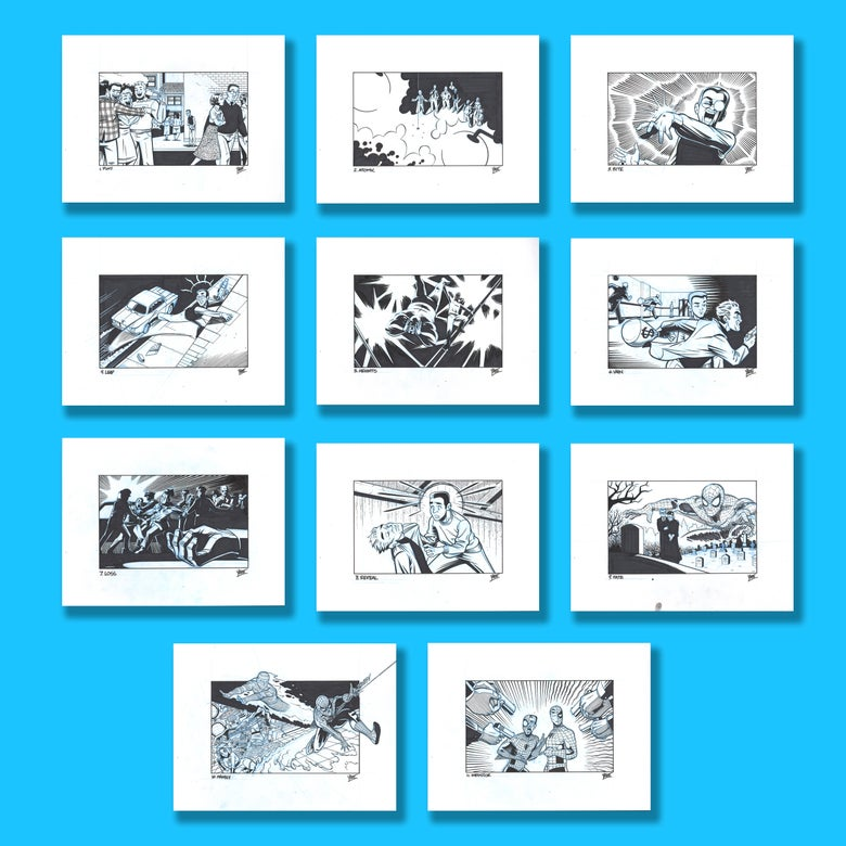 Image of The Ditkober Collection - Complete 11 Piece Set