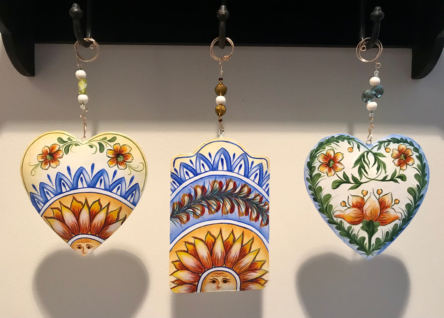 Image of Sun and Flowers Decorative Hangings