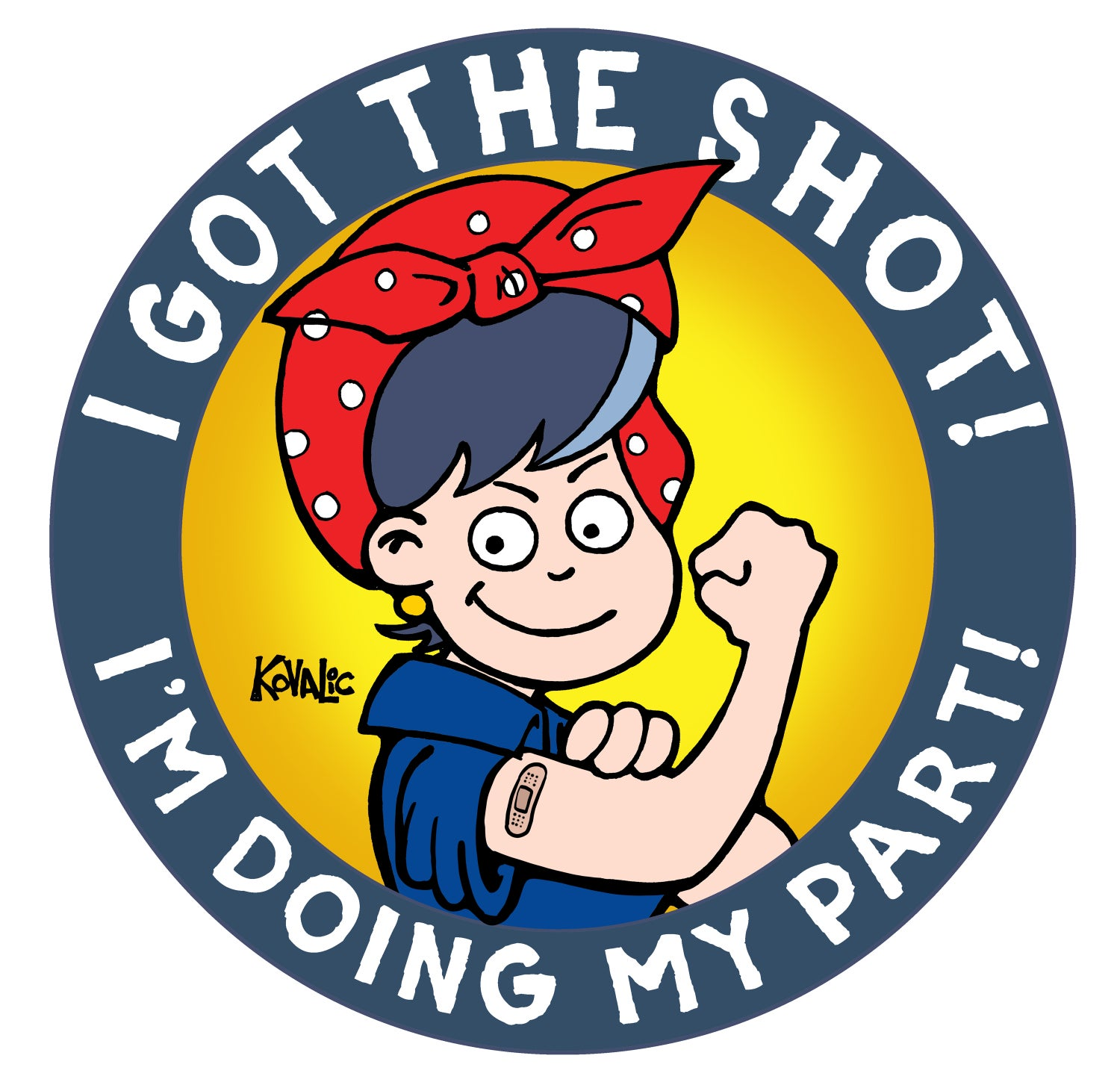 Image of I Got The Shot! Button