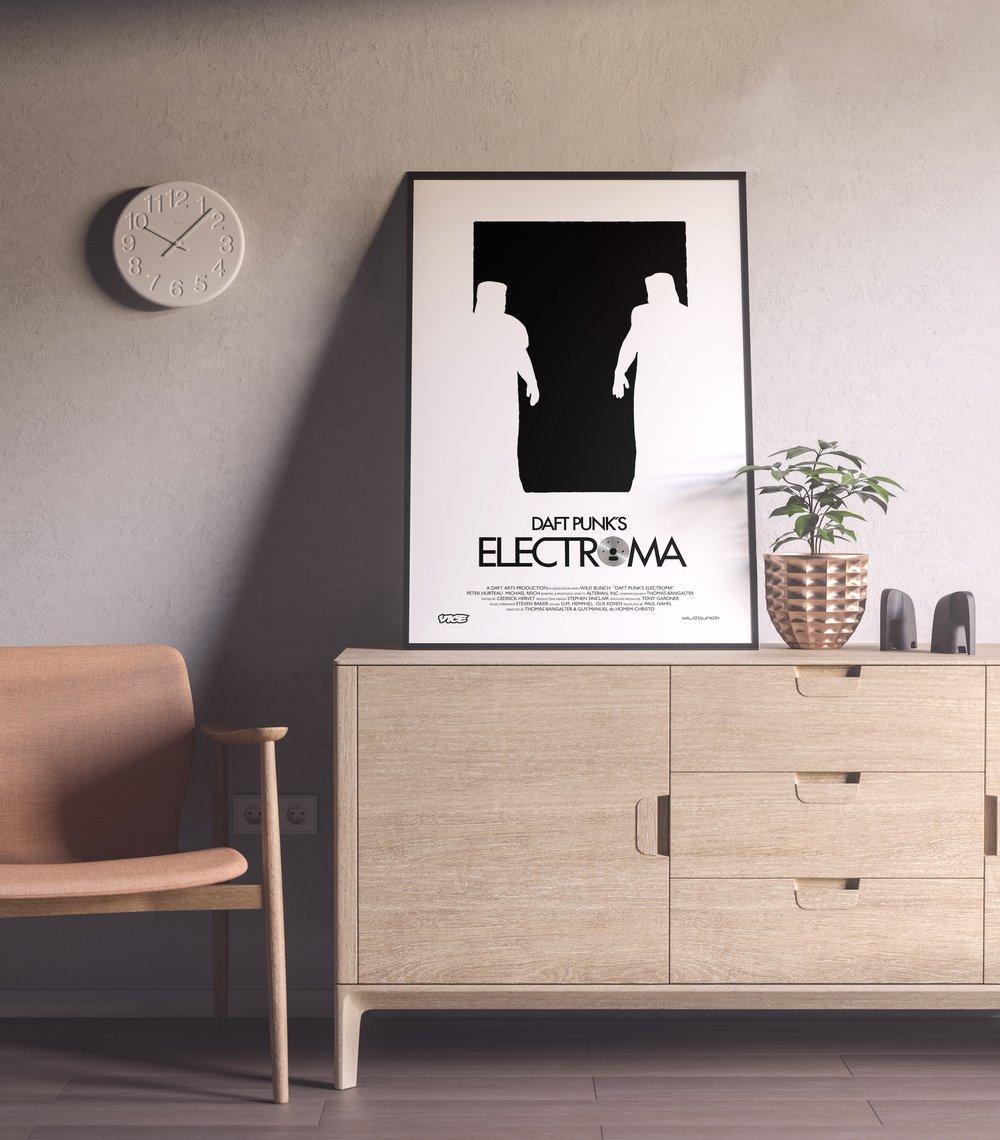 Daft Punk's Electroma - Thomas Bangalter & Guy-Manuel music video poster
