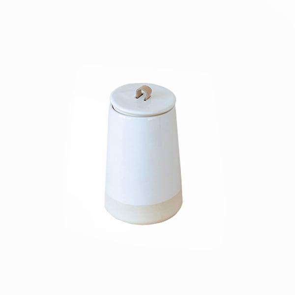 Image of Speckled Lidded Jar