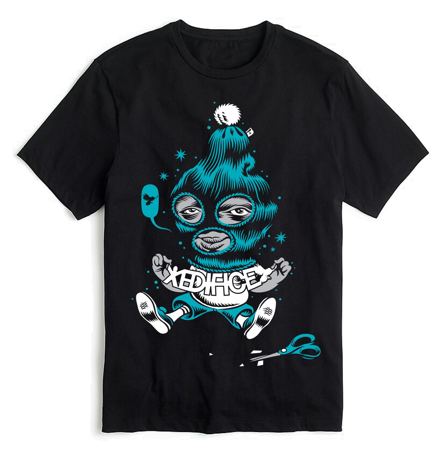 Image of EDIFICE PAPER CUT ANDRES SHORT SLEEVE M-XL