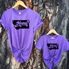 Youth Retro Montana Mini Tee -Purple