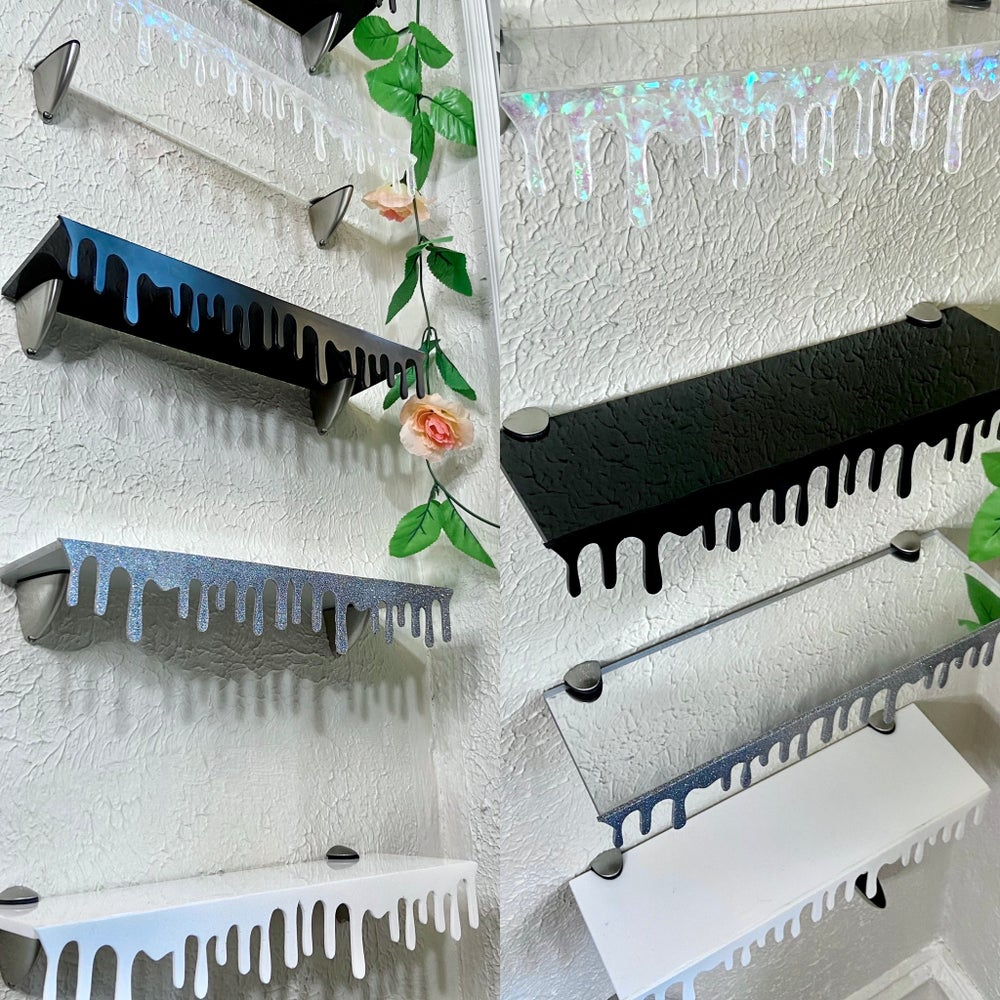 *Pre Order* Dripping Floating Shelves: Misc