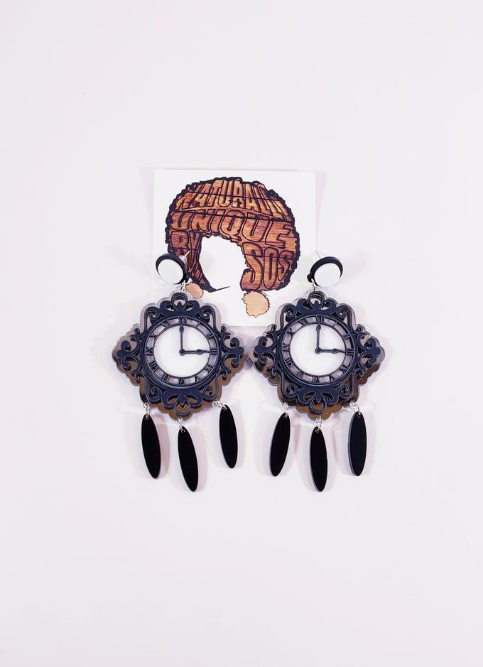 Image of Vintage Wall Clock Earrings