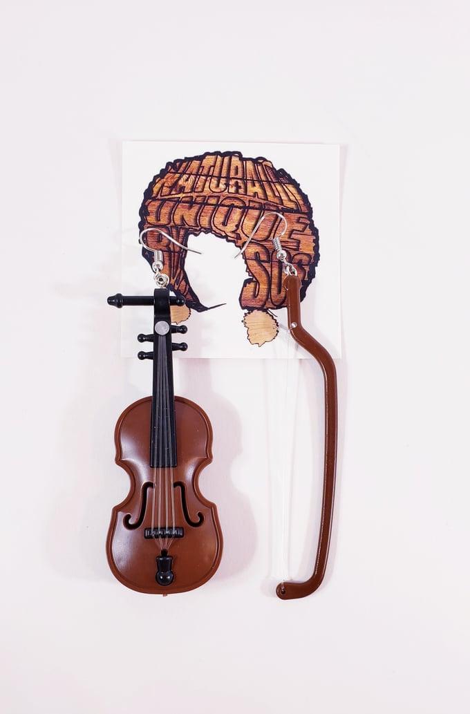 Image of Violin Earrings