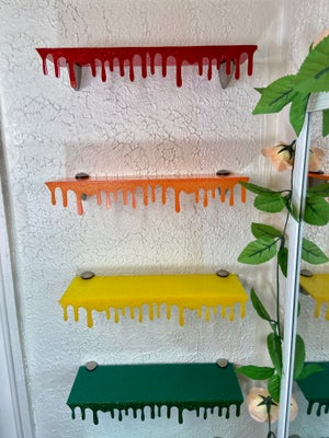 *Pre Order* Dripping Floating Shelves: Opaque