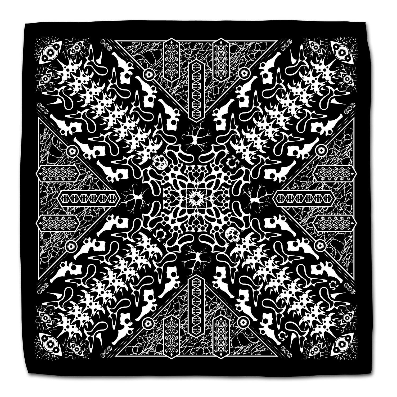 Image of Biomechanical Mandala II Bandana