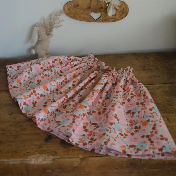 Image of jupe en liberty betsy ecureuil