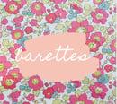 Image 1 of Barrette chouchou elastique betsy je t'aime