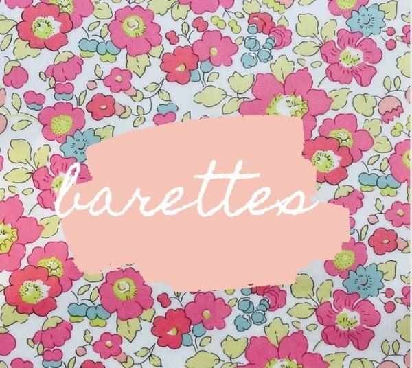 Image of Barrette chouchou elastique betsy je t'aime