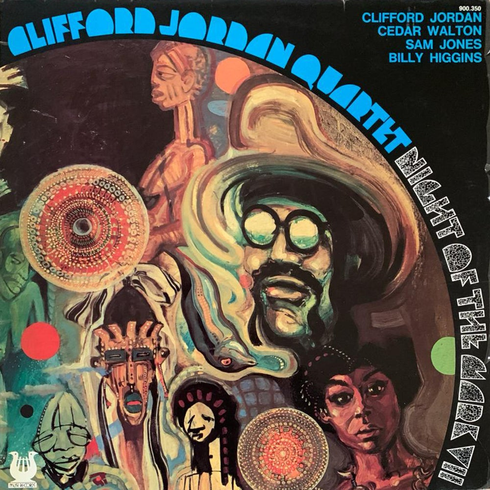Clifford Jordan Quartet - Night Of The Mark VII (Muse, Test Pressing 1978)