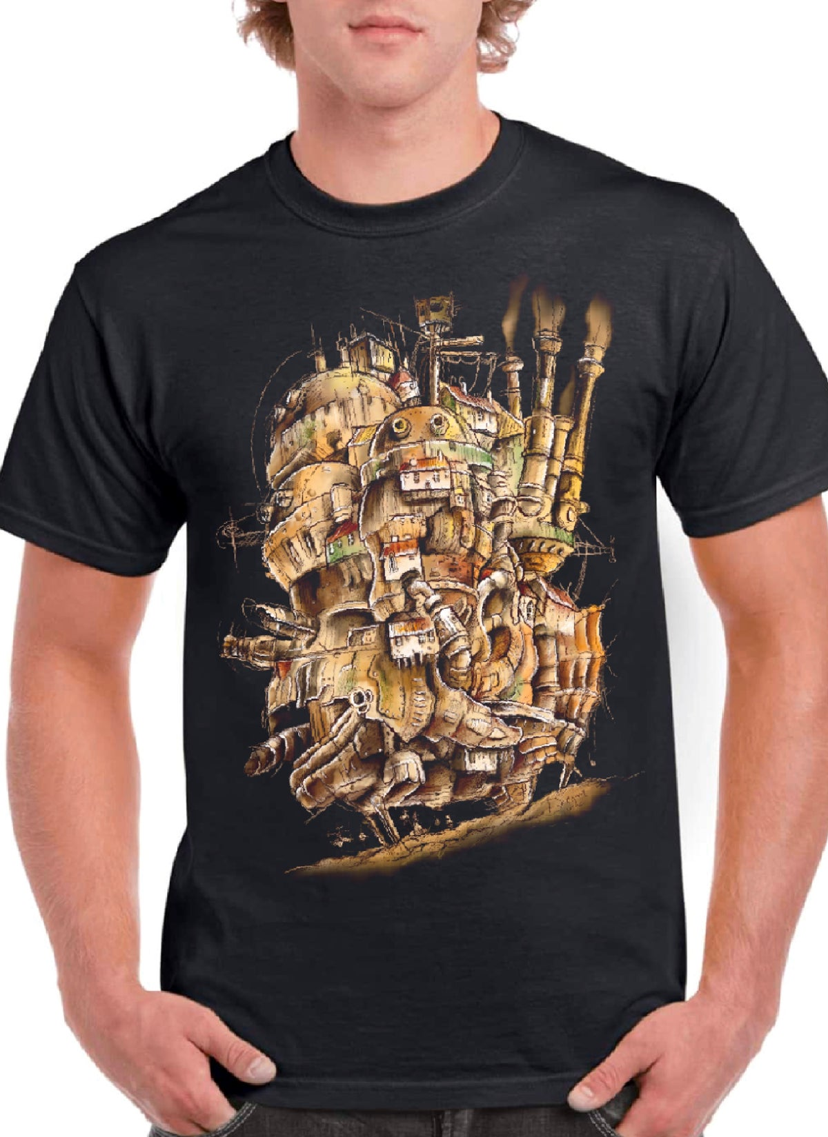 Camiseta Unisex - Howl's Moving Castle