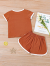 Lacey's Letter Tee and Track Short Set