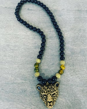 Cheetah Inspired Necklace